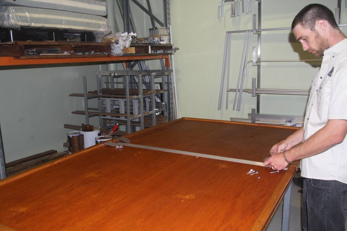 Hannibal roof top tent baseboard manufacturing