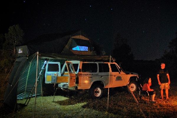 hannibal roof top tent lighting