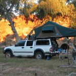 Holden Colorado with Hannibal Safari Rooftop Tent