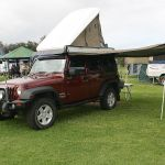 Jeep with Hannibal Safari Rooftop Tent
