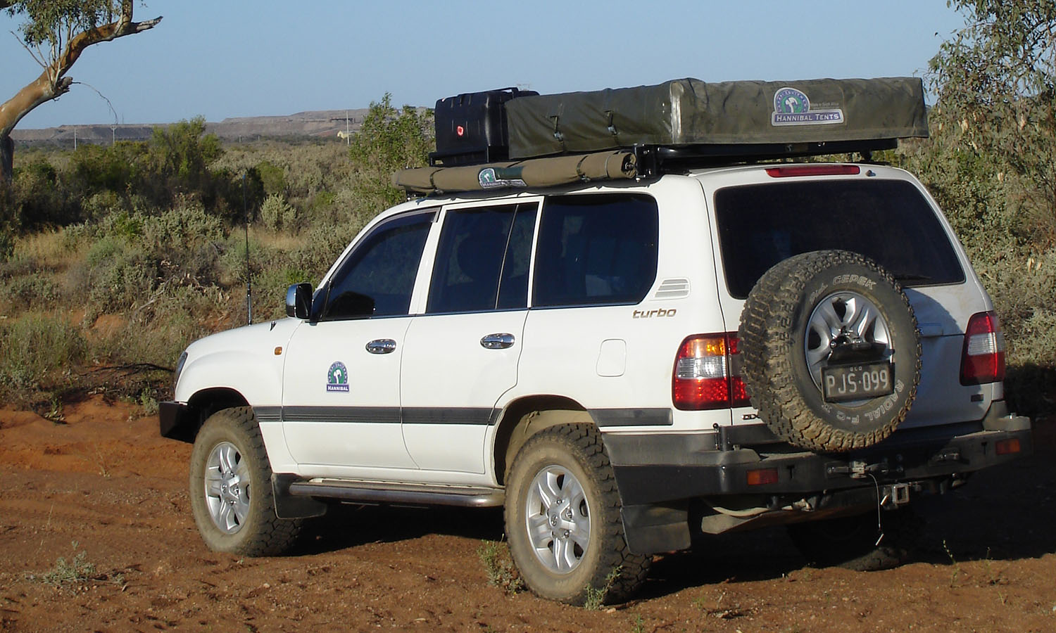 Hannibal Roof Racks For 100 Series Toyota Landcruiser