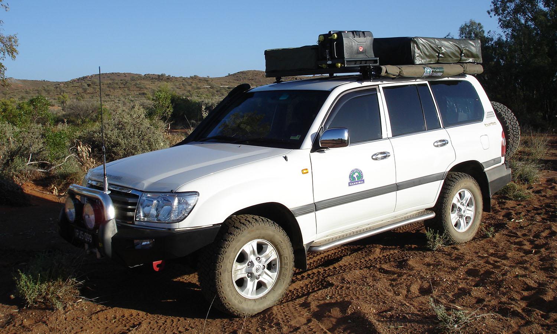 Hannibal Roof Racks for 100 Series Toyota Landcruiser
