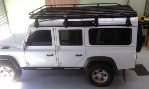 Hannibal Roof Racks for 110 Series Land Rover Defender