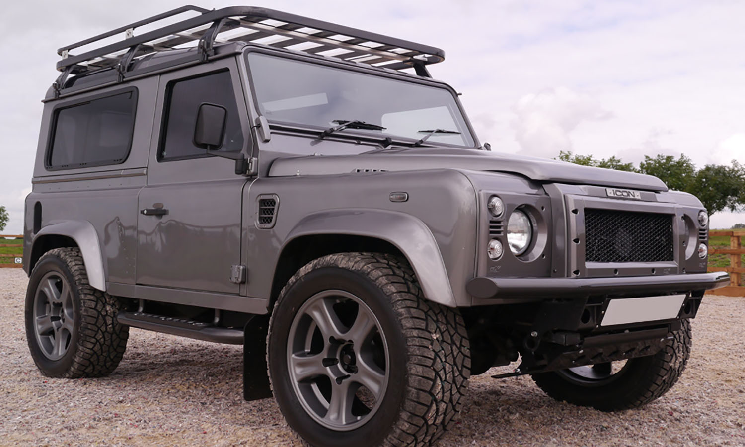 Hannibal Roof Racks u2013 90 Series Defender & Roof Racks - Hannibal Safari Equipment