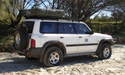Hannibal Roof Racks for Nissan Patrol GU
