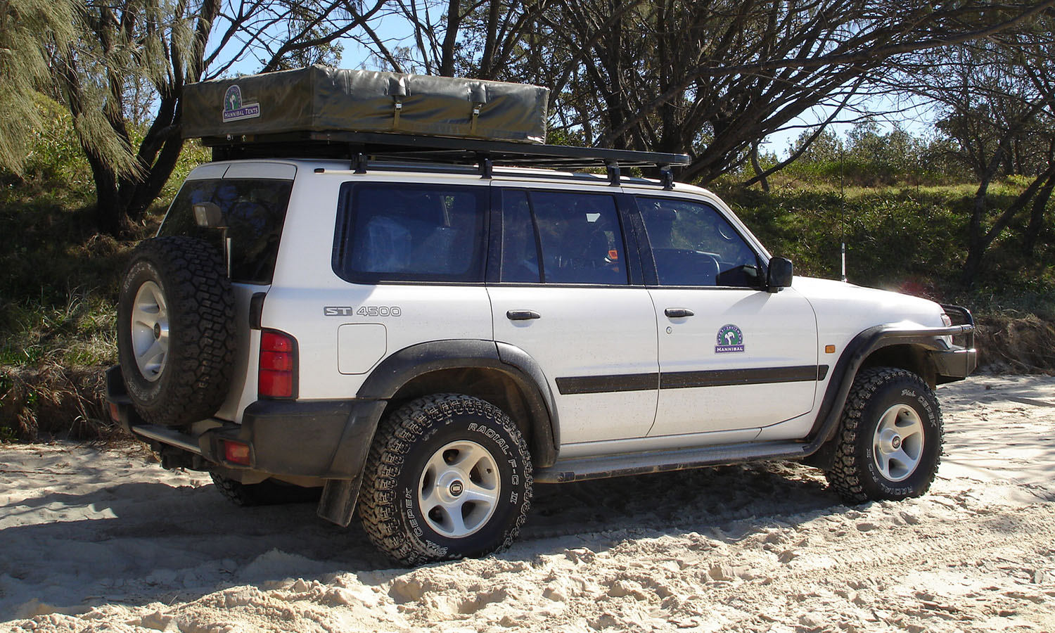Hannibal Roof Racks for Nissan Patrol GU