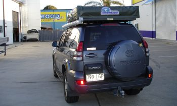 Hannibal Roof Racks for 120 and 150 Series Toyota Prado