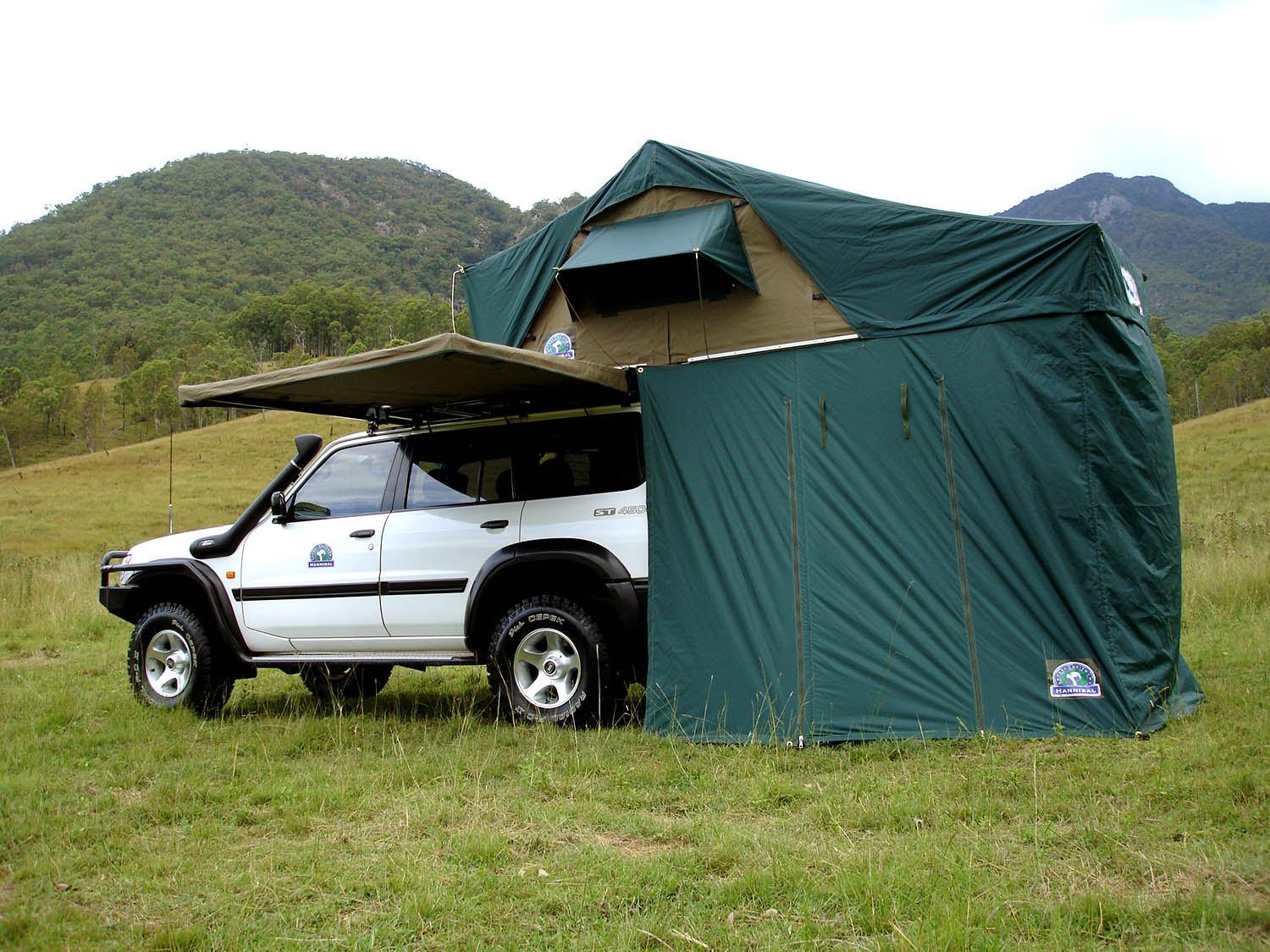 Hannibal Jumbo Canvas Tent  sc 1 st  Hannibal Safari : hannibal roof tent uk - memphite.com