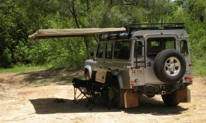 Hannibal Safari Equipment - Legless Awning