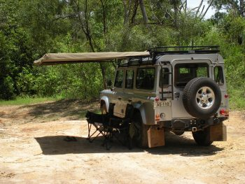Hannibal Safari Equipment - Legless Awning