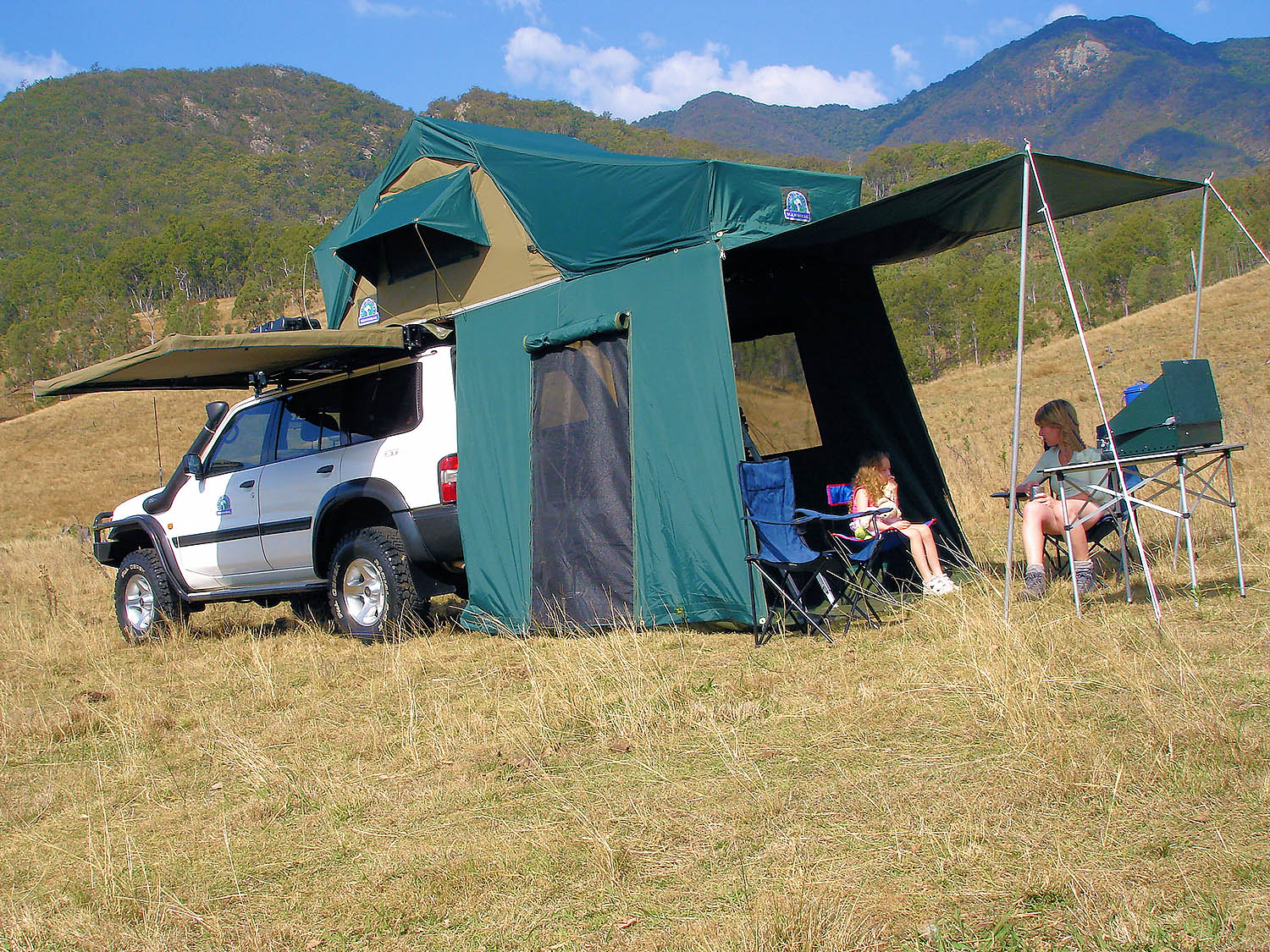Hannibal Tourer Canvas Tent & Roof Top Tents - Hannibal Safari Equipment